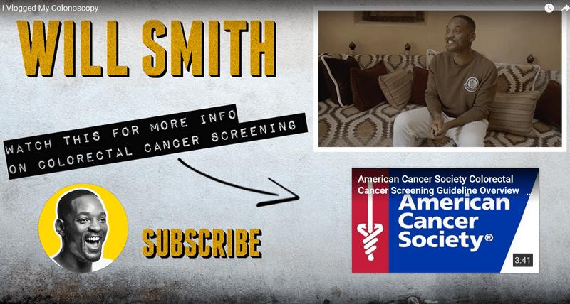 Вилл Смитт с улыбкой прошел скриниговую колоноскопию в 50 лет