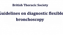 Guidelines on diagnostic flexible bronchoscopy